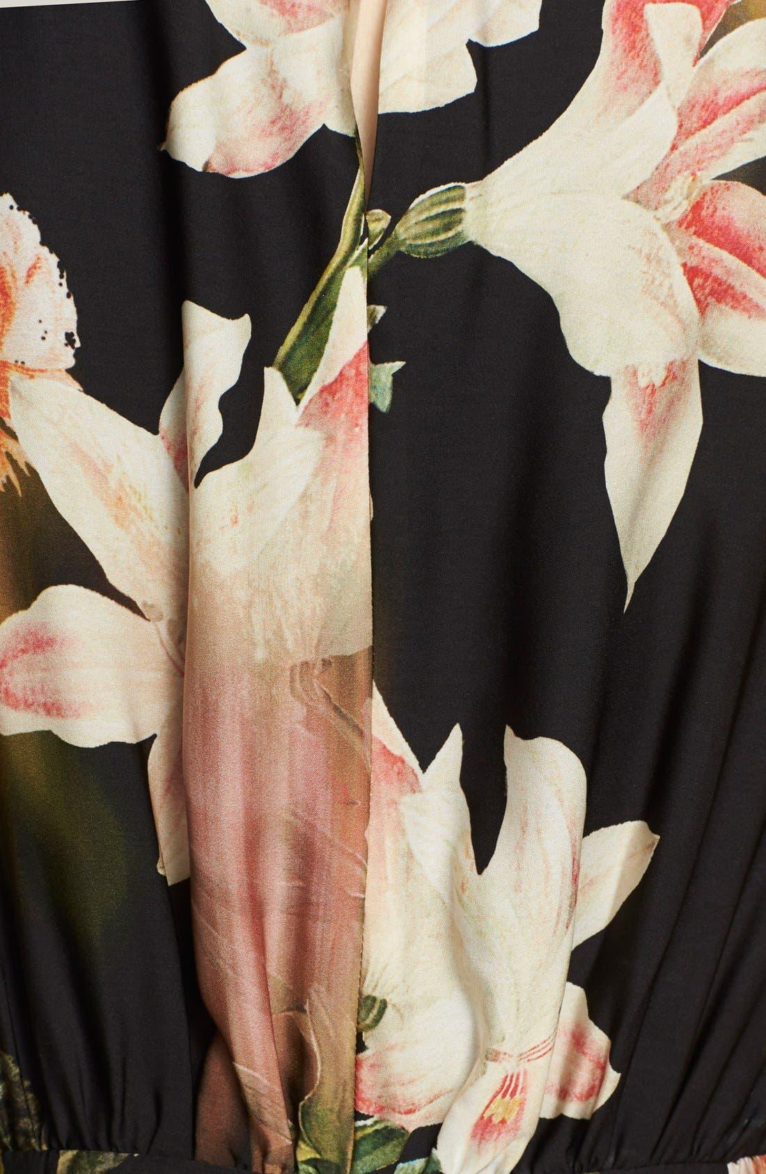Alternate Image 3  - Ted Baker London 'Jasmyne' Floral Print Maxi Dress
