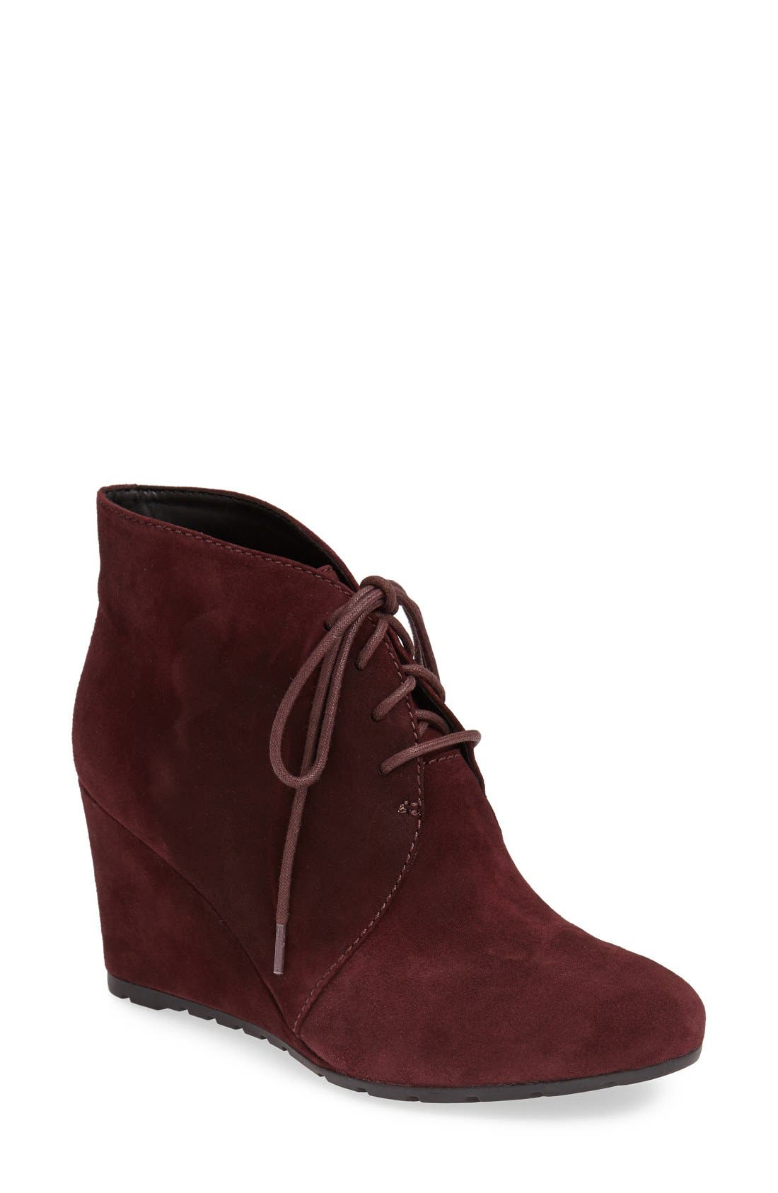 Alternate Image 1 Selected - Clarks® 'Rosepoint Dew' Suede Boot (Women)