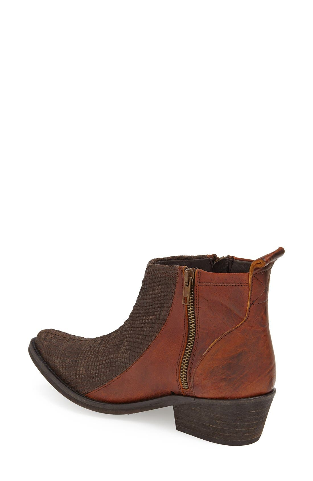 Alternate Image 2  - Free People 'Flying Ranch' Pointy Toe Bootie (Women)