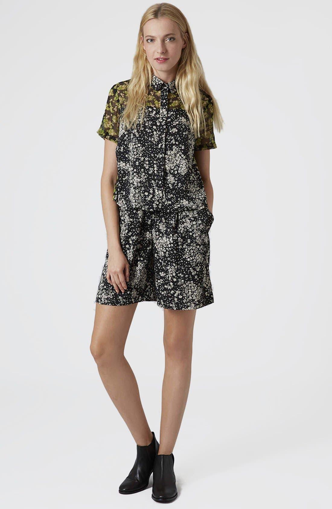 Alternate Image 5  - Topshop Reclaim To Wear Mix Print Shirt