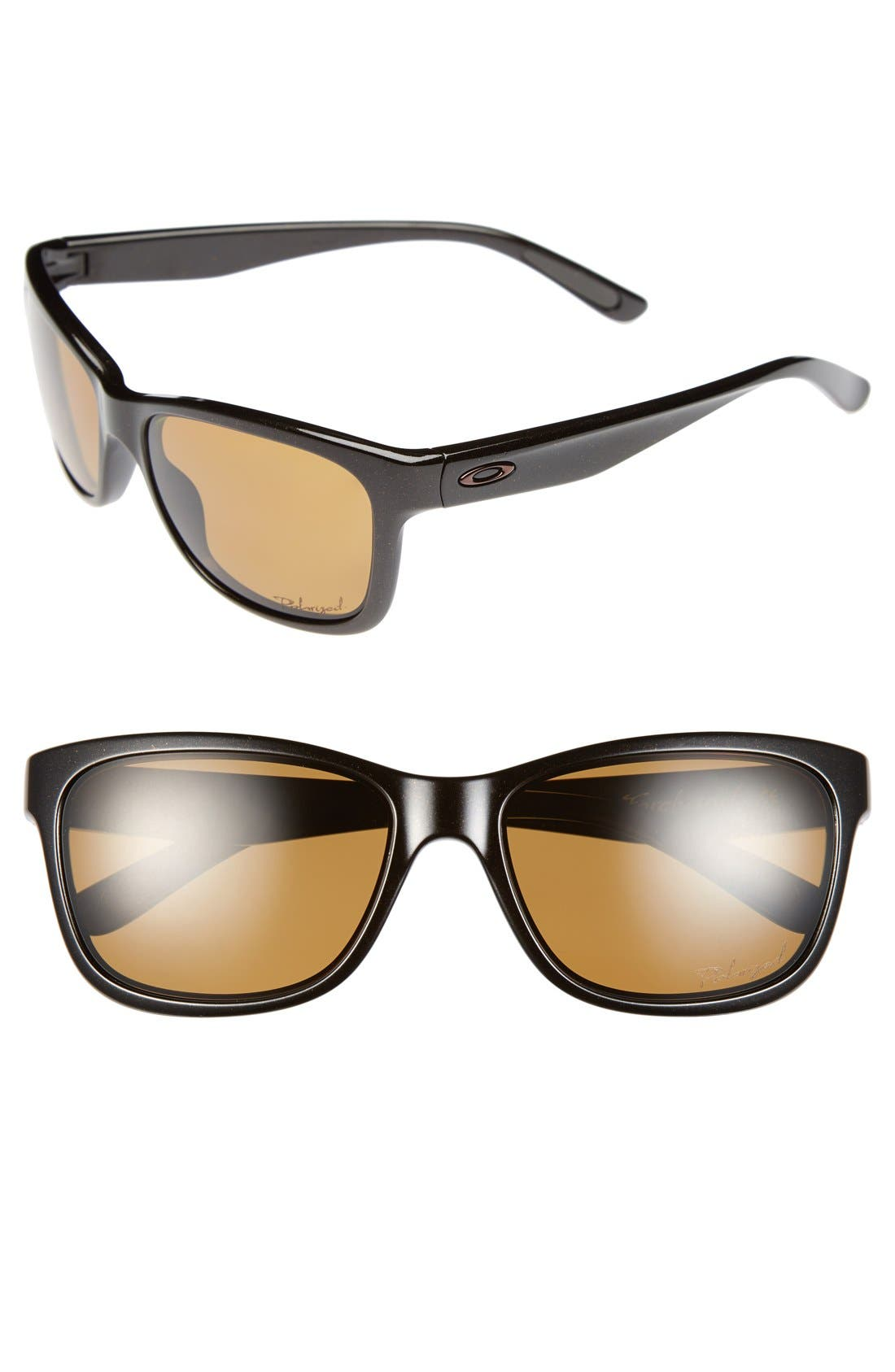Main Image - Oakley 'Forehand™' 57mm Sunglasses