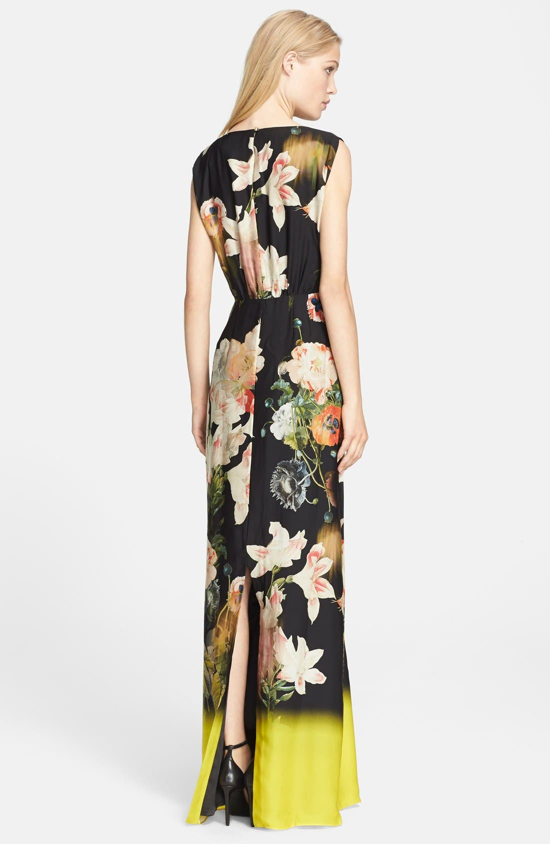 Alternate Image 2  - Ted Baker London 'Jasmyne' Floral Print Maxi Dress