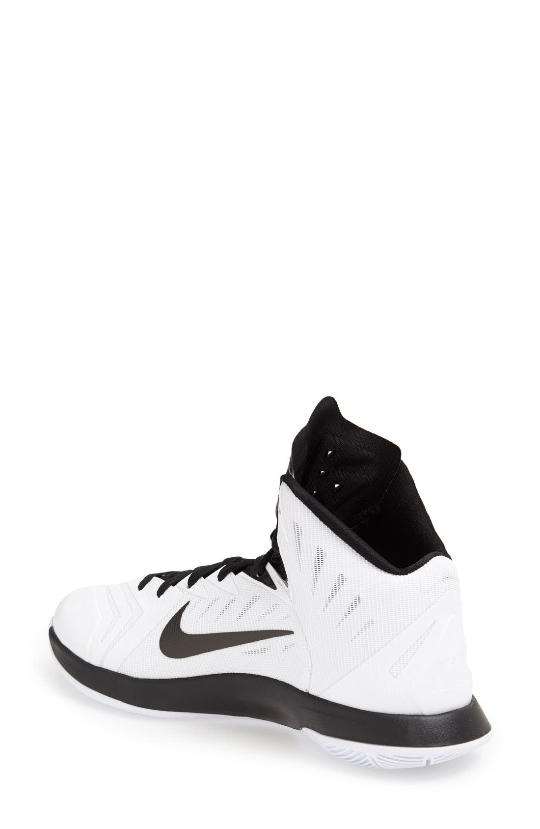 Alternate Image 2  - Nike 'Lunar Hyperquickness' Basketball Shoe (Women)