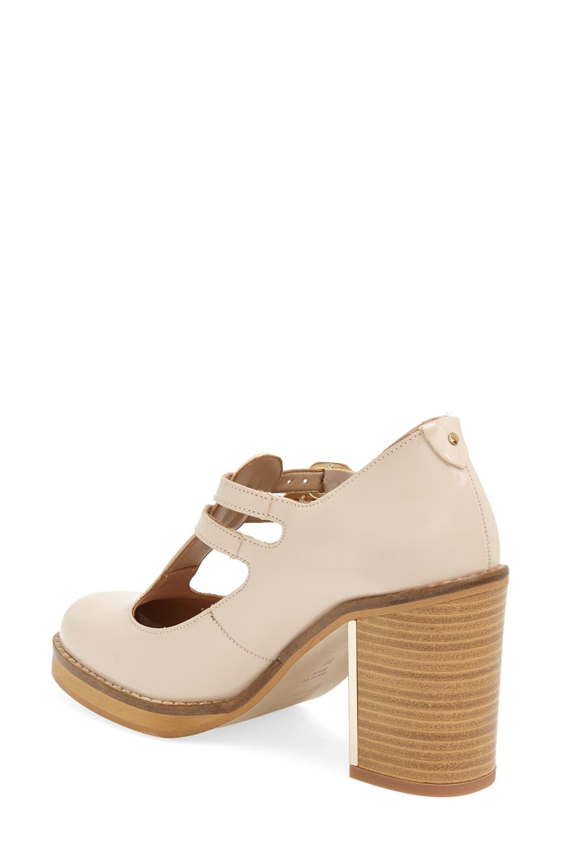 Alternate Image 2  - Topshop 'Gess' Mary Jane T-Strap Pump (Women)