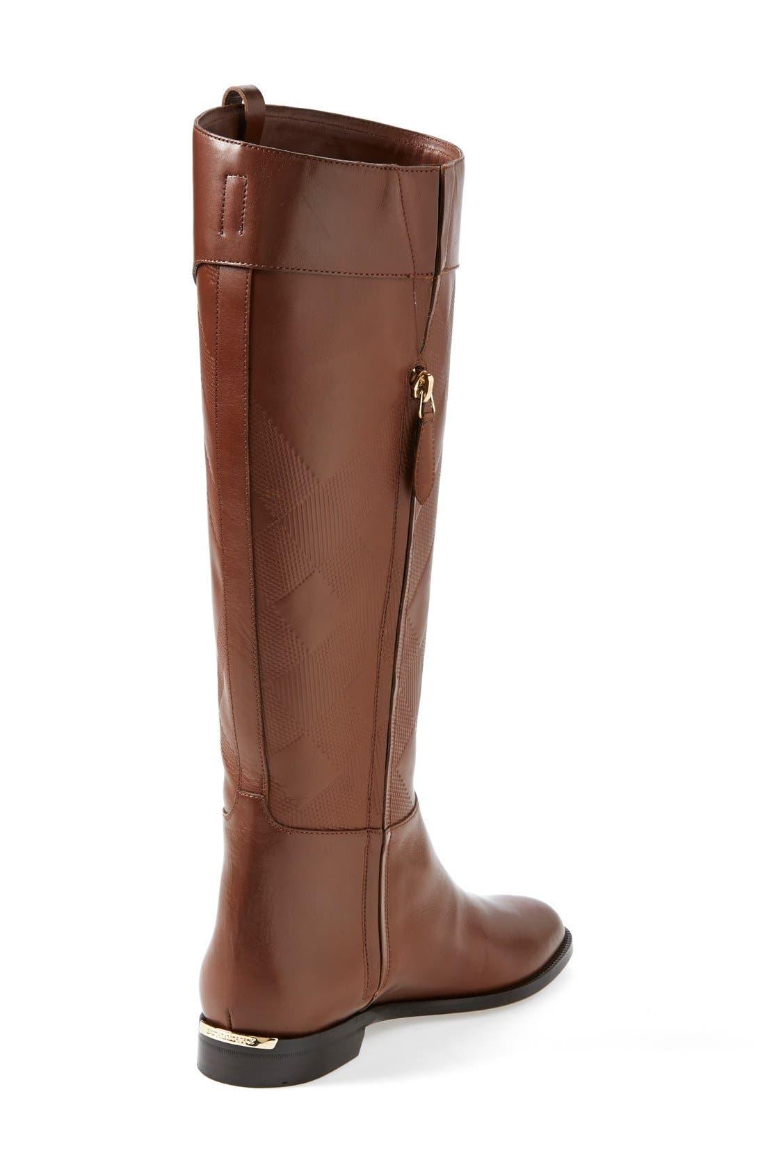 Alternate Image 2  - Burberry 'Copse' Riding Boot (Women)