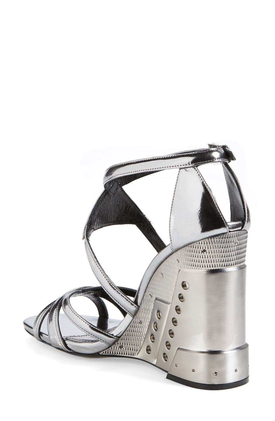 Alternate Image 2  - Prada Leather Wedge (Women)