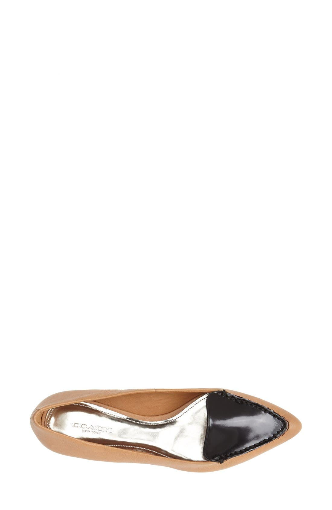 Alternate Image 3  - COACH 'Walsh' Leather Loafer (Women)