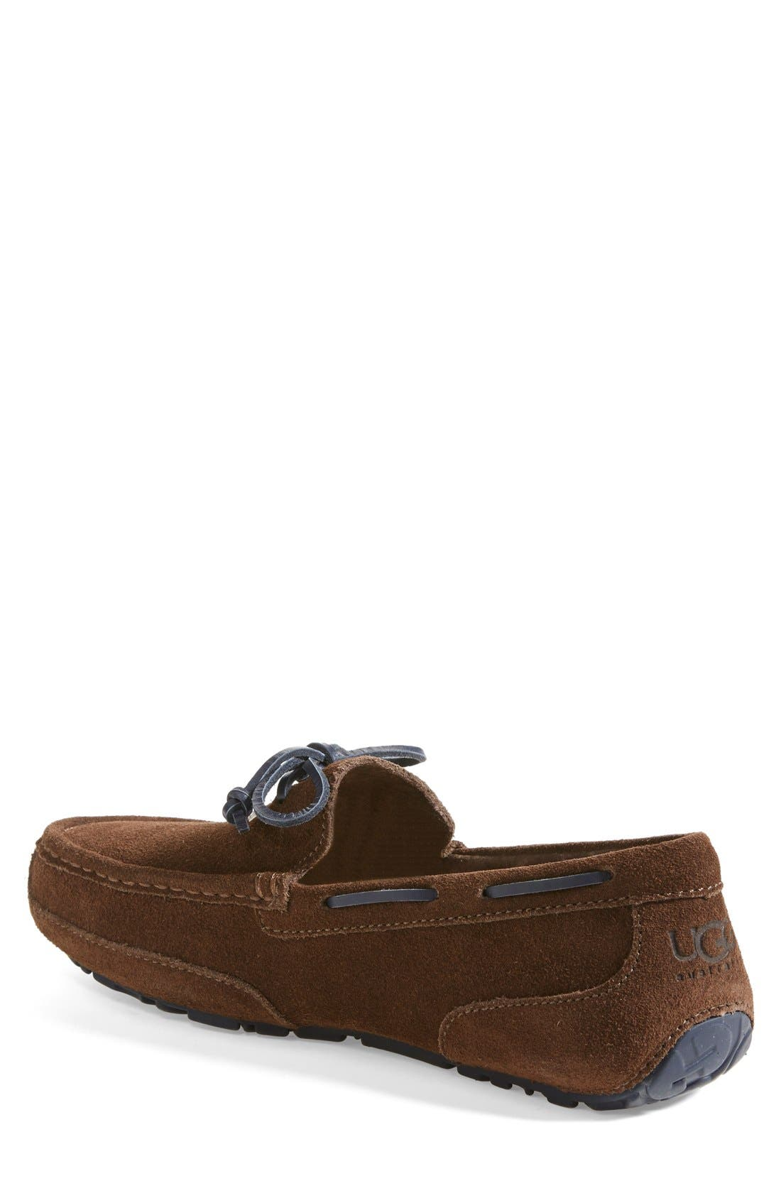 Alternate Image 2  - UGG® 'Chester' Driving Loafer (Men)