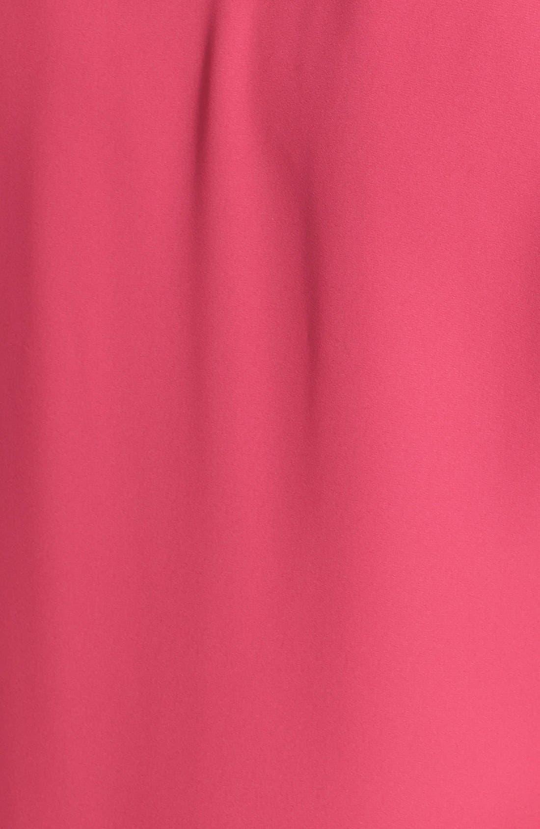 Alternate Image 3  - Pleione Embroidered Sleeve Blouse