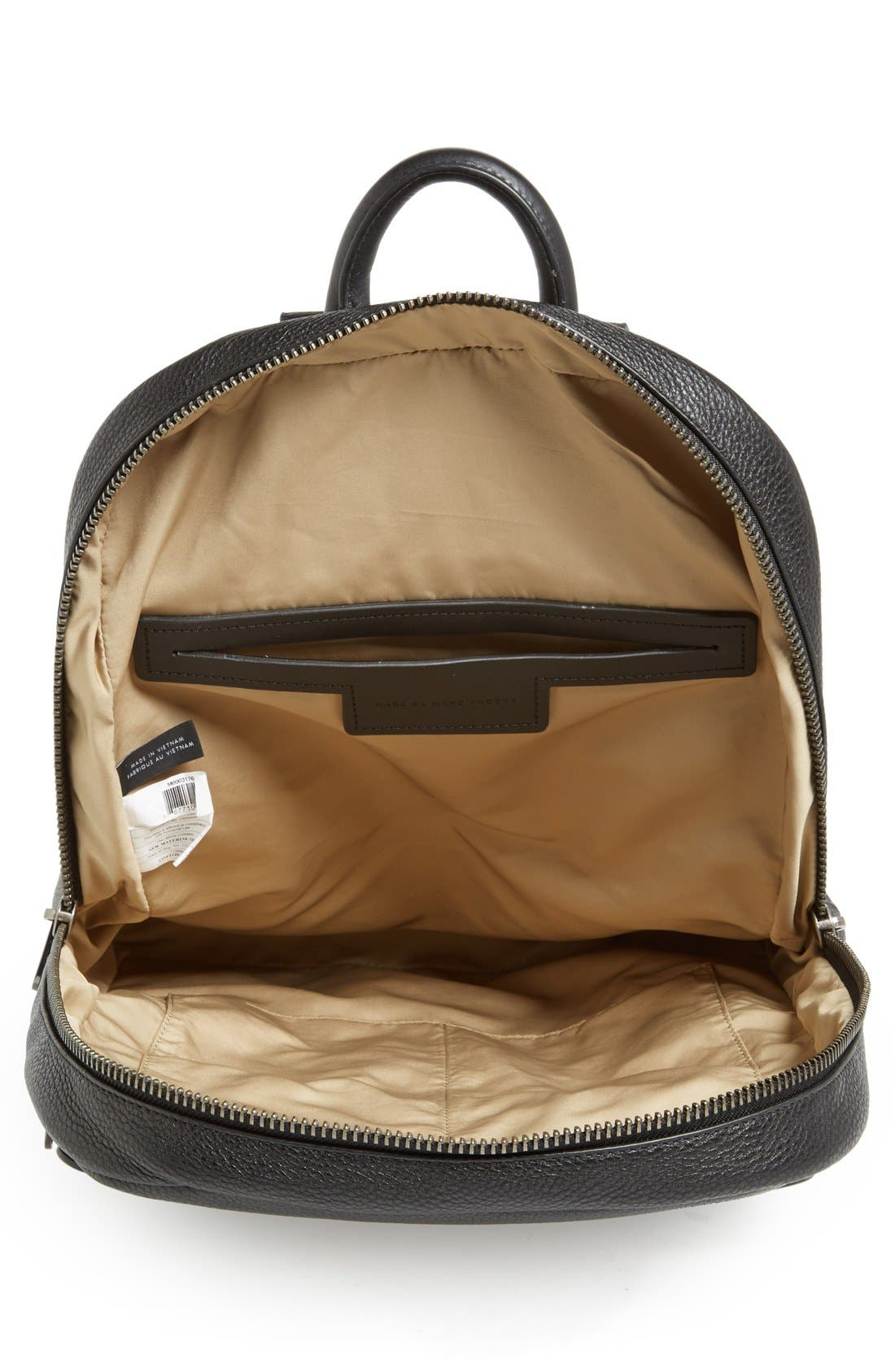 Alternate Image 4  - MARC BY MARC JACOBS 'Classic' Leather Backpack
