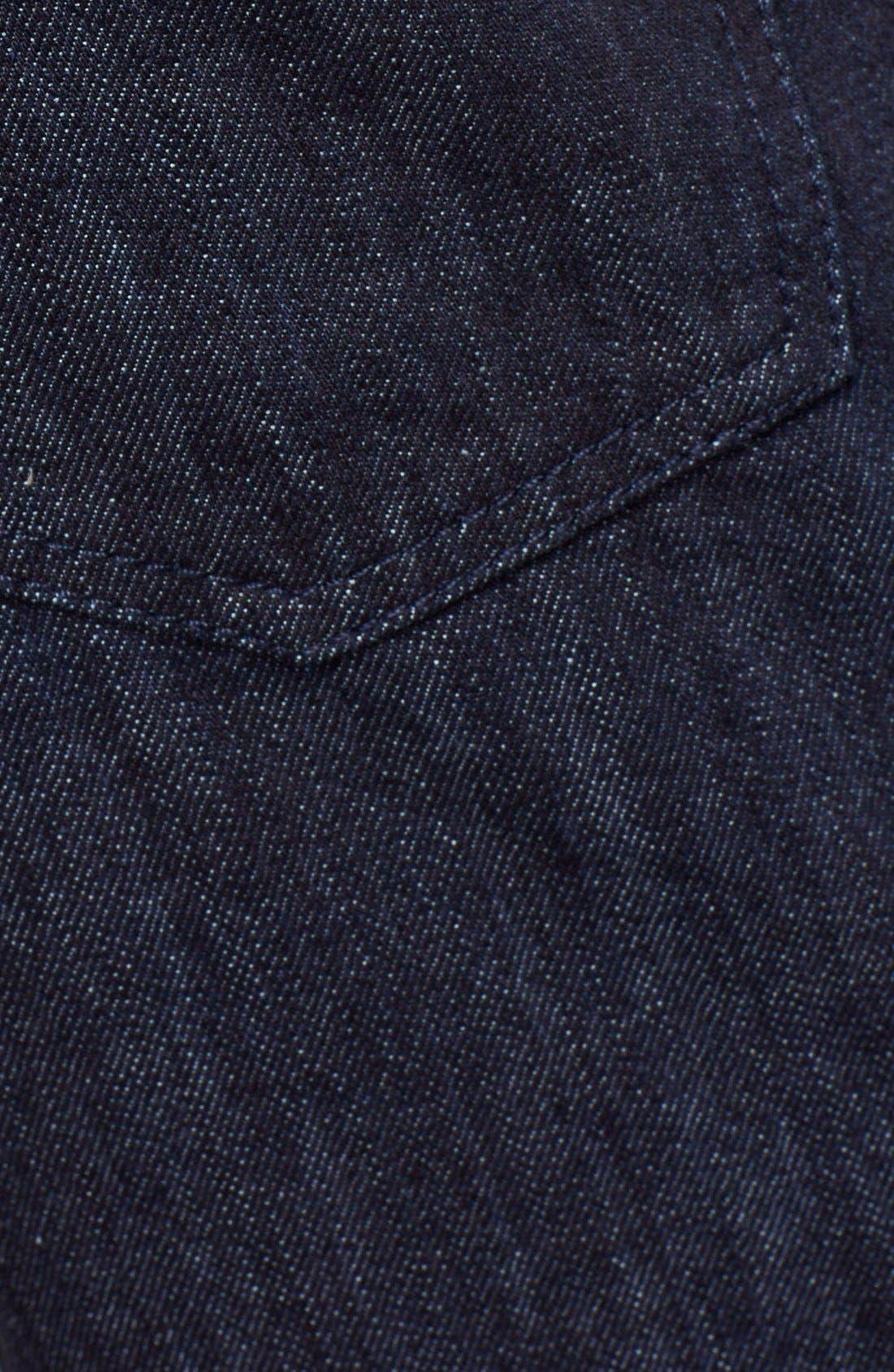 Alternate Image 4  - Salvatore Ferragamo 'Blue' Straight Leg Jeans
