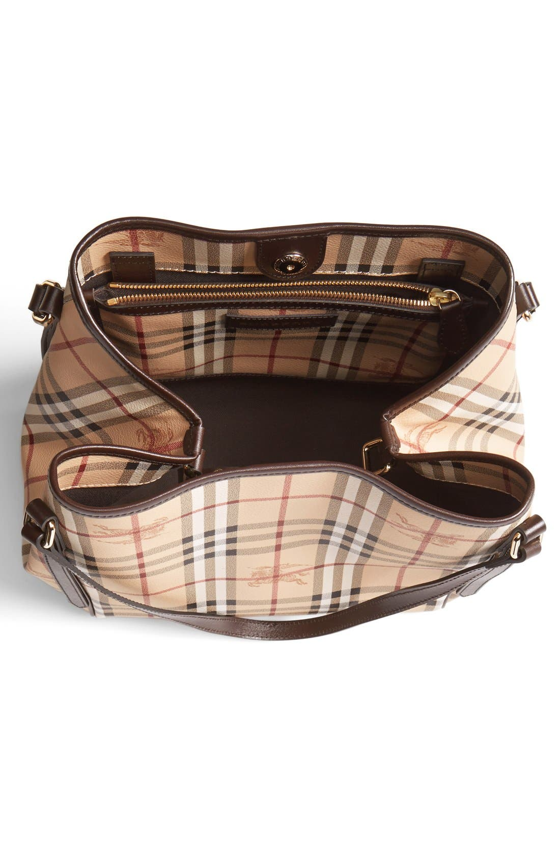 Alternate Image 4  - Burberry 'Haymarket Check - Small' Shoulder Tote