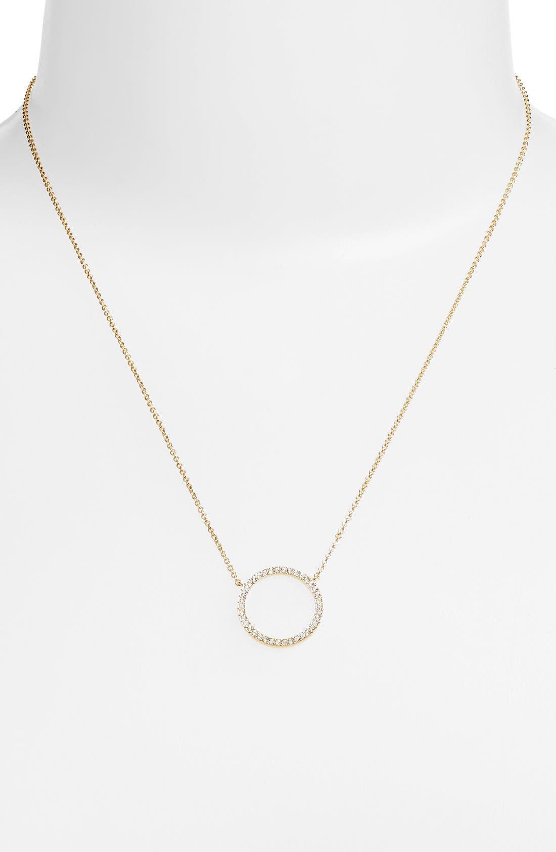 Alternate Image 2  - Nadri Circle Pendant Necklace