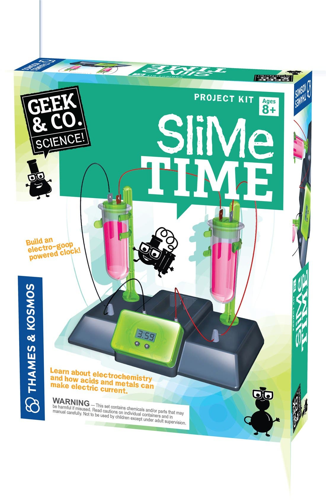 Thames & Kosmos Slime Time Experiment Kit
