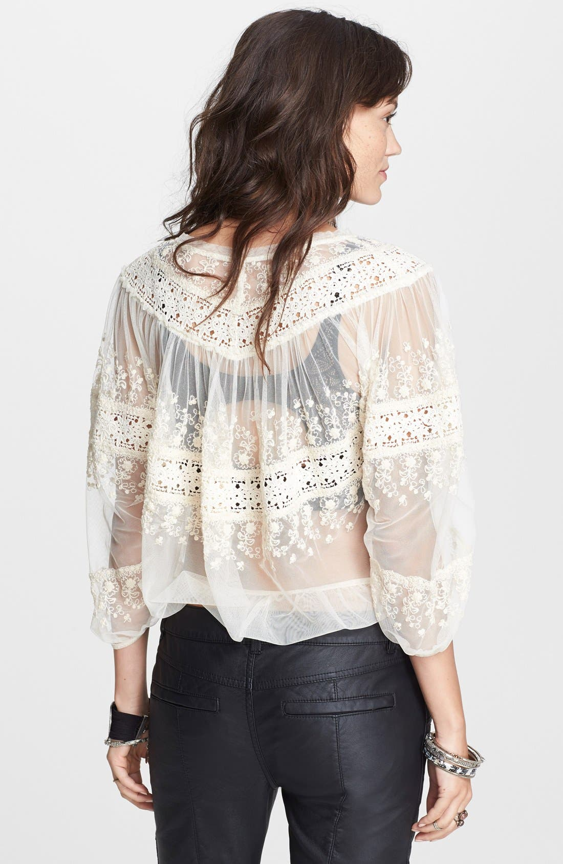 Alternate Image 2  - Free People 'Counting the Days' Victorian Top