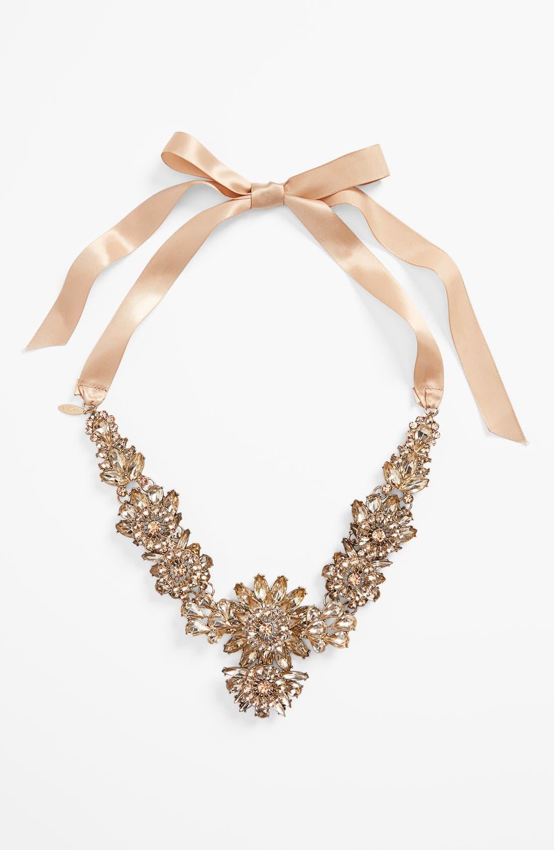 Main Image - Tasha Ribbon Collar Necklace