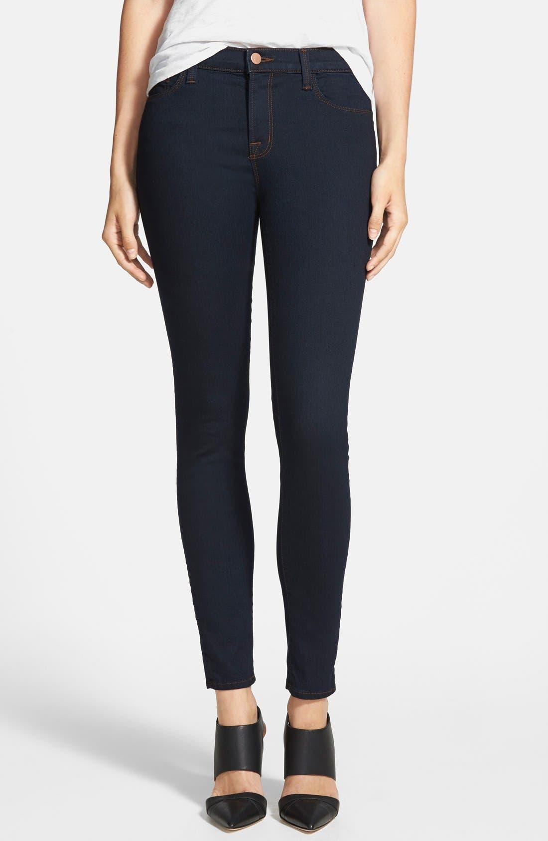 J Brand '811' Ankle Skinny Jeans (Ink)