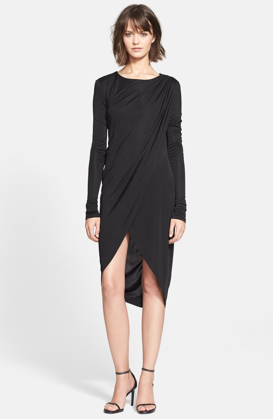 Alternate Image 1 Selected - Rachel Zoe 'Gio' Ruched Asymmetrical Dress