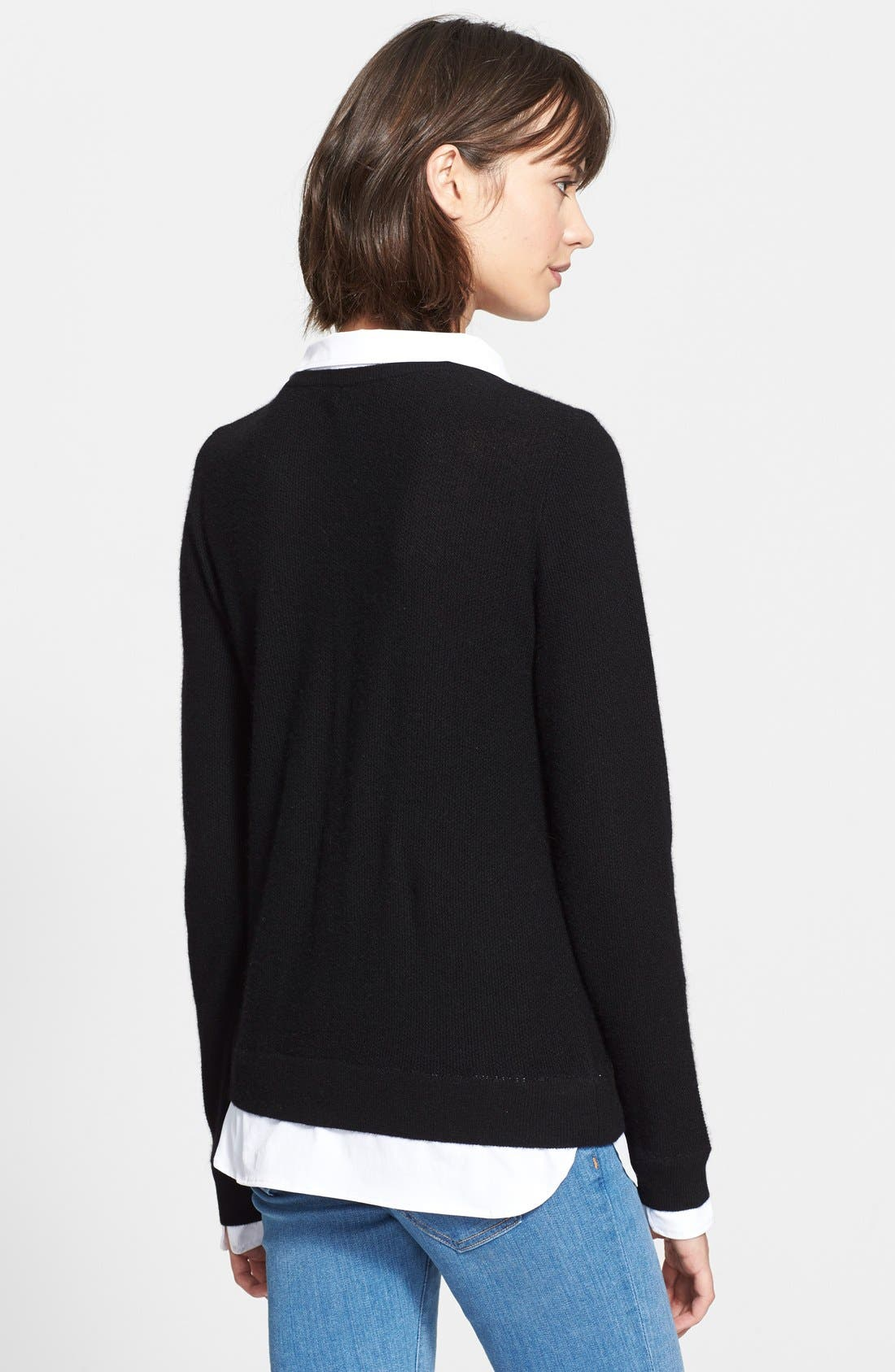 Alternate Image 2  - Joie 'Rika' Layered Look Wool & Cashmere Sweater