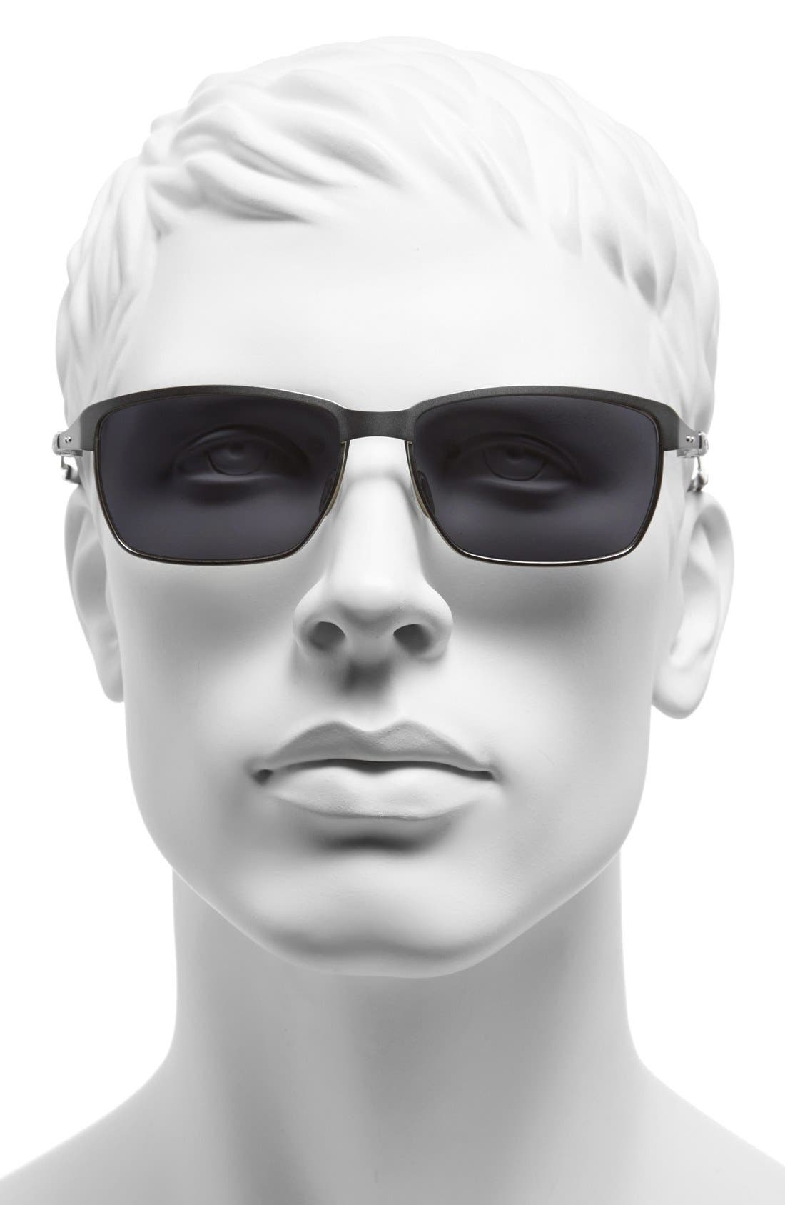 Alternate Image 2  - Oakley 'Tinfoil' 58mm Sunglasses