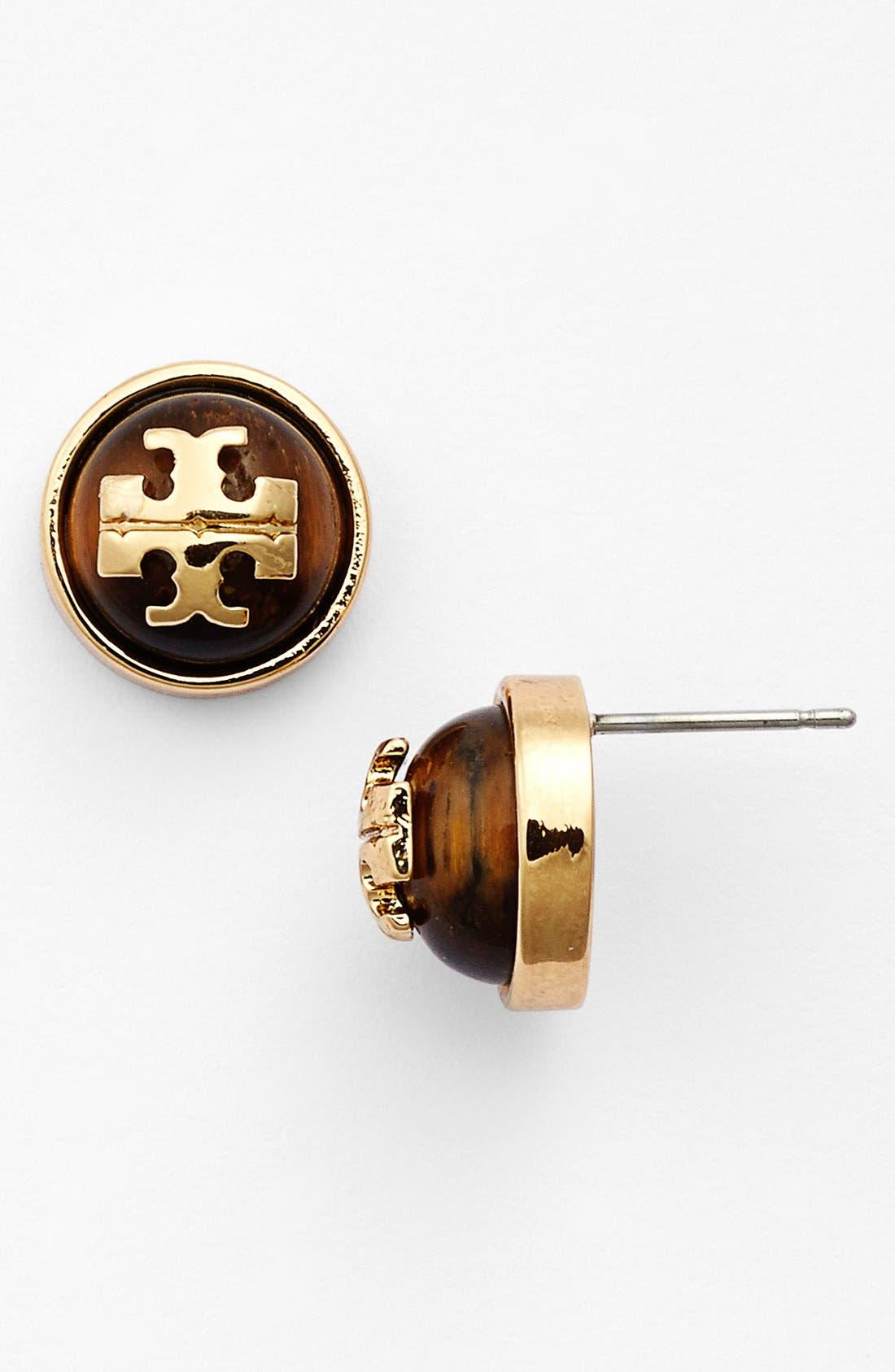 Main Image - Tory Burch 'Patty' Stud Earrings