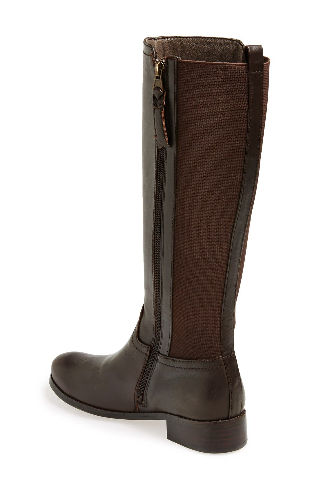 Alternate Image 2  - Trotters 'Signature Lucia' Leather Riding Boot (Women)