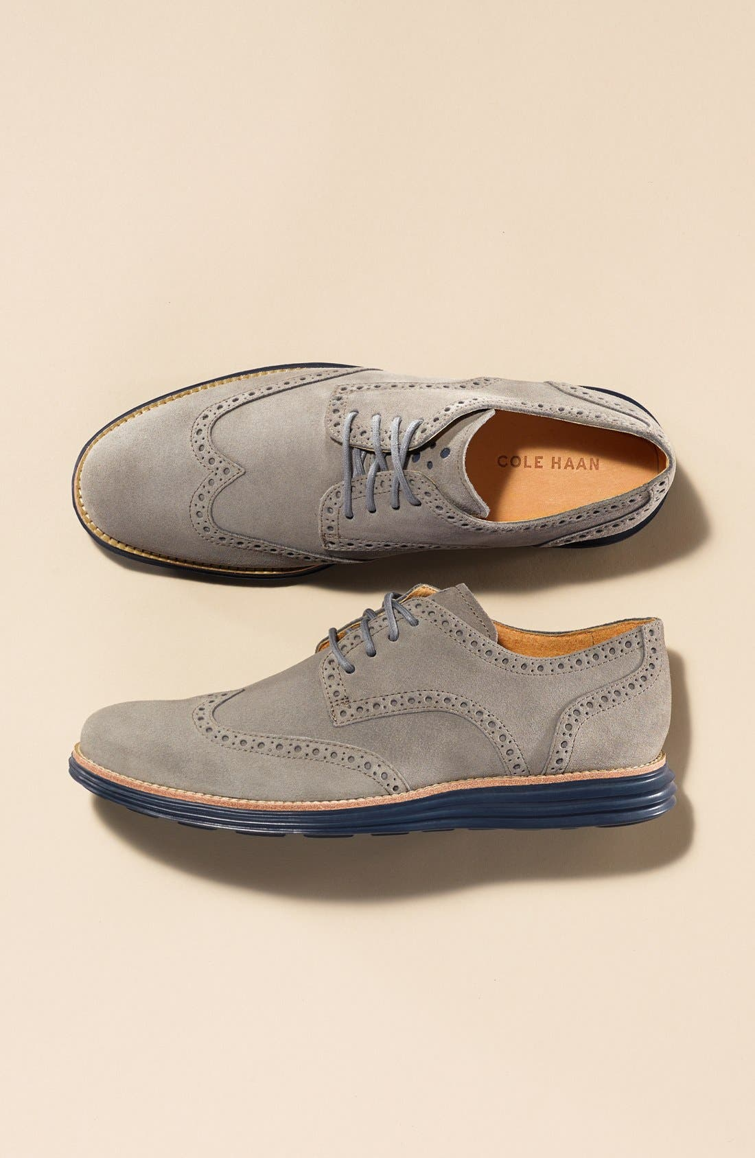 Alternate Image 4  - Cole Haan 'LunarGrand' Wingtip   (Men)