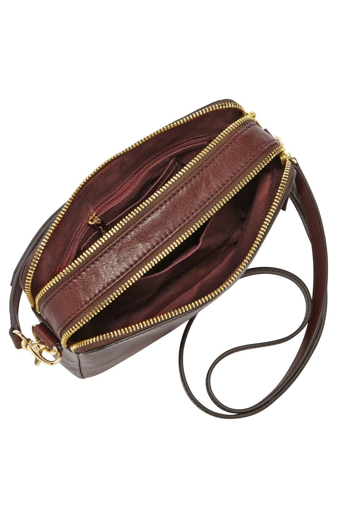 Alternate Image 4  - Fossil 'Sydney' Leather Crossbody Bag