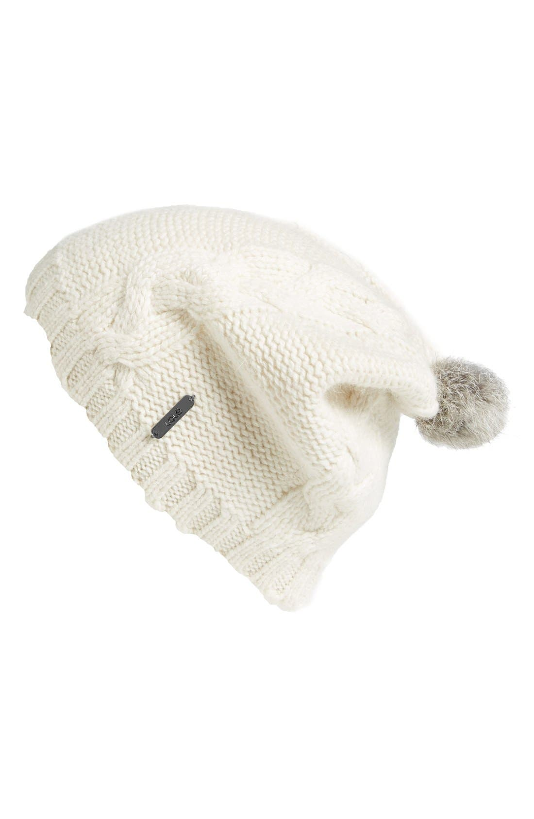 Alternate Image 1 Selected - Lole Cable Knit Beanie