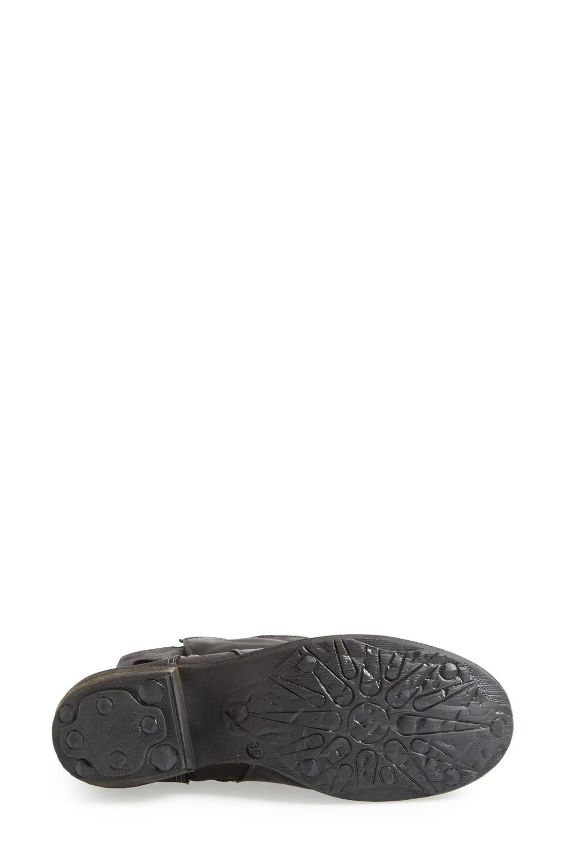 Alternate Image 4  - Bos. & Co. 'Katie' Waterproof Leather Moto Boot (Women)