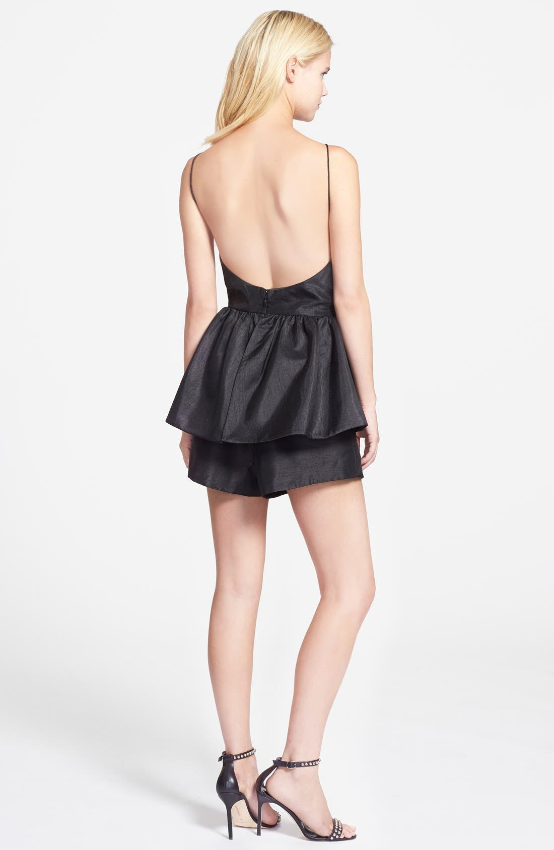 Alternate Image 2  - C/MEO Collective 'Perfect World' Ruffled Open Back Romper