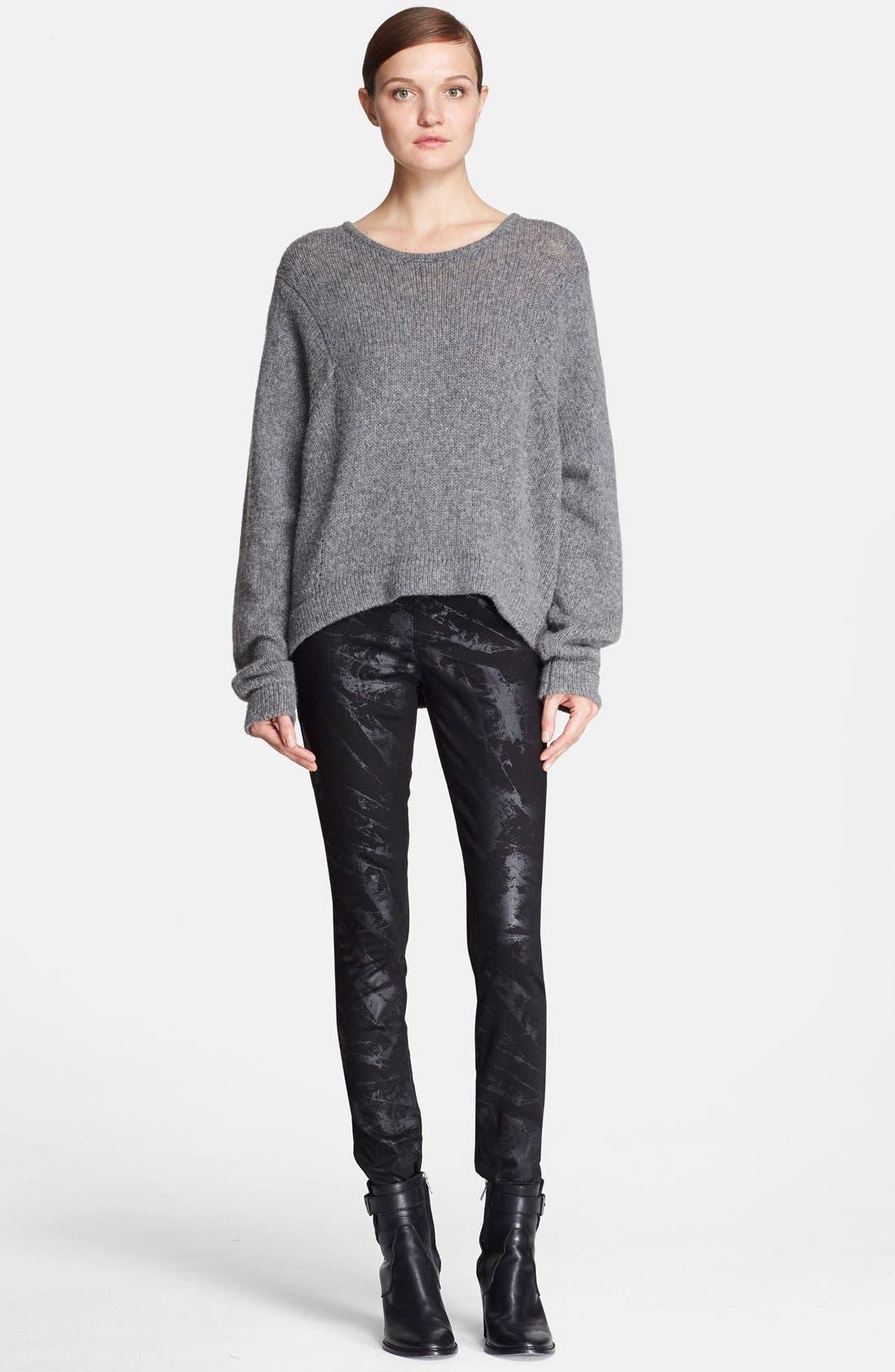 Alternate Image 4  - Helmut Lang Oversize Wool Blend Sweater
