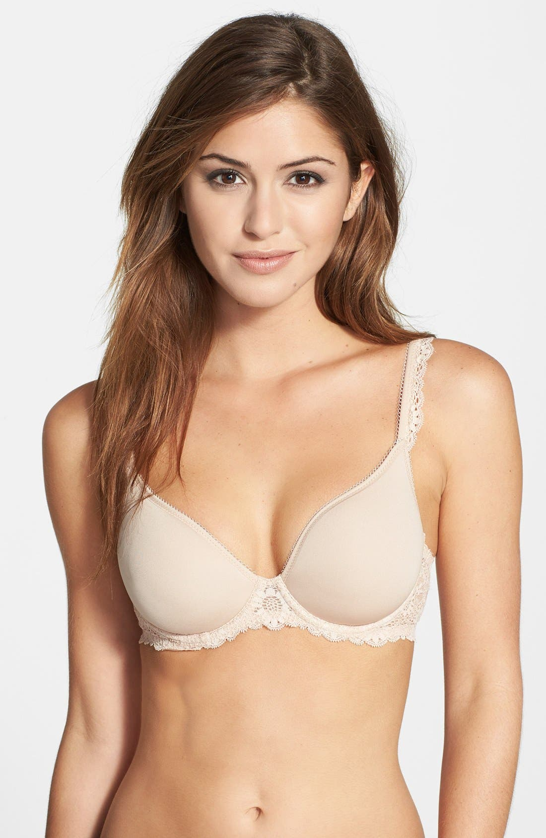 Alternate Image 1 Selected - Simone Perele 'Caressence 3D' Plunge Bra