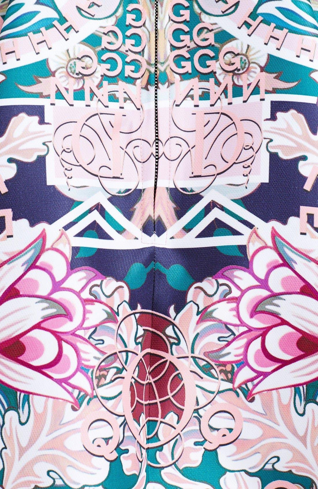Alternate Image 3  - Mary Katrantzou Print Strapless Fit & Flare Dress