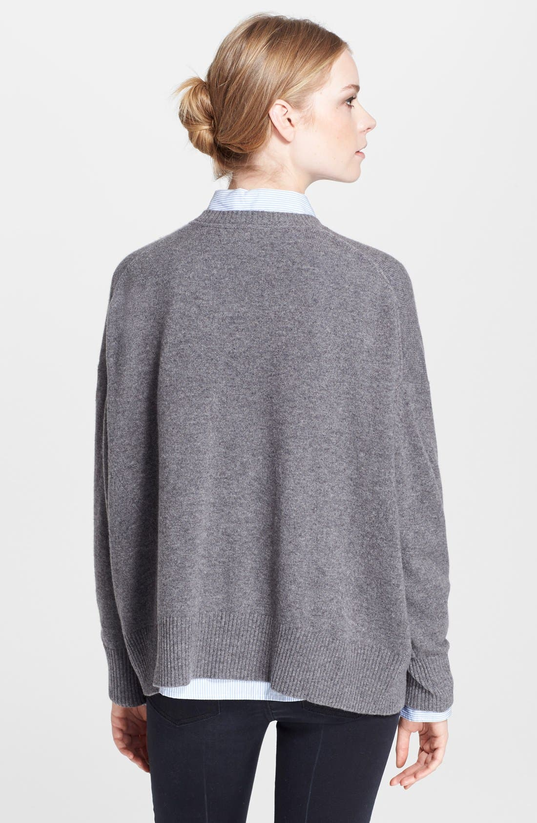 Alternate Image 2  - MARC BY MARC JACOBS 'Jo' Front Slit Cashmere Sweater
