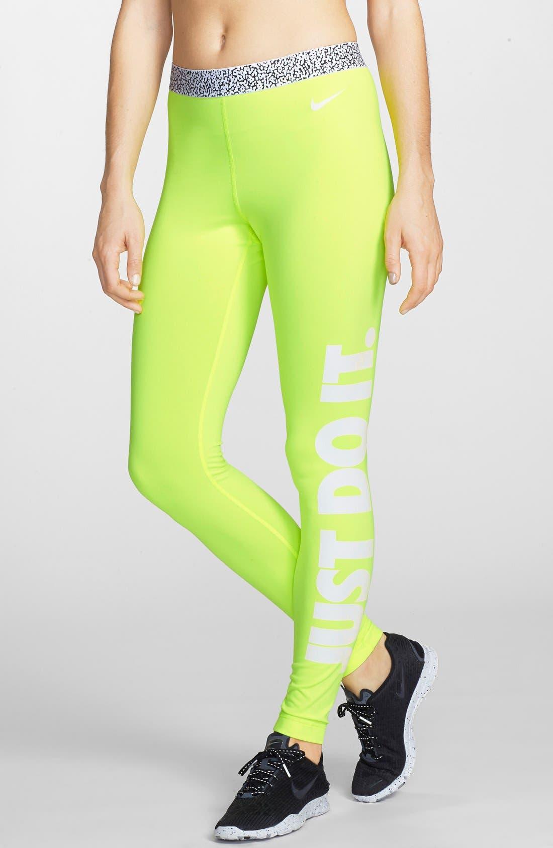 Alternate Image 1 Selected - Nike 'Pro Hyperwarm' Mezzo Compression Tights