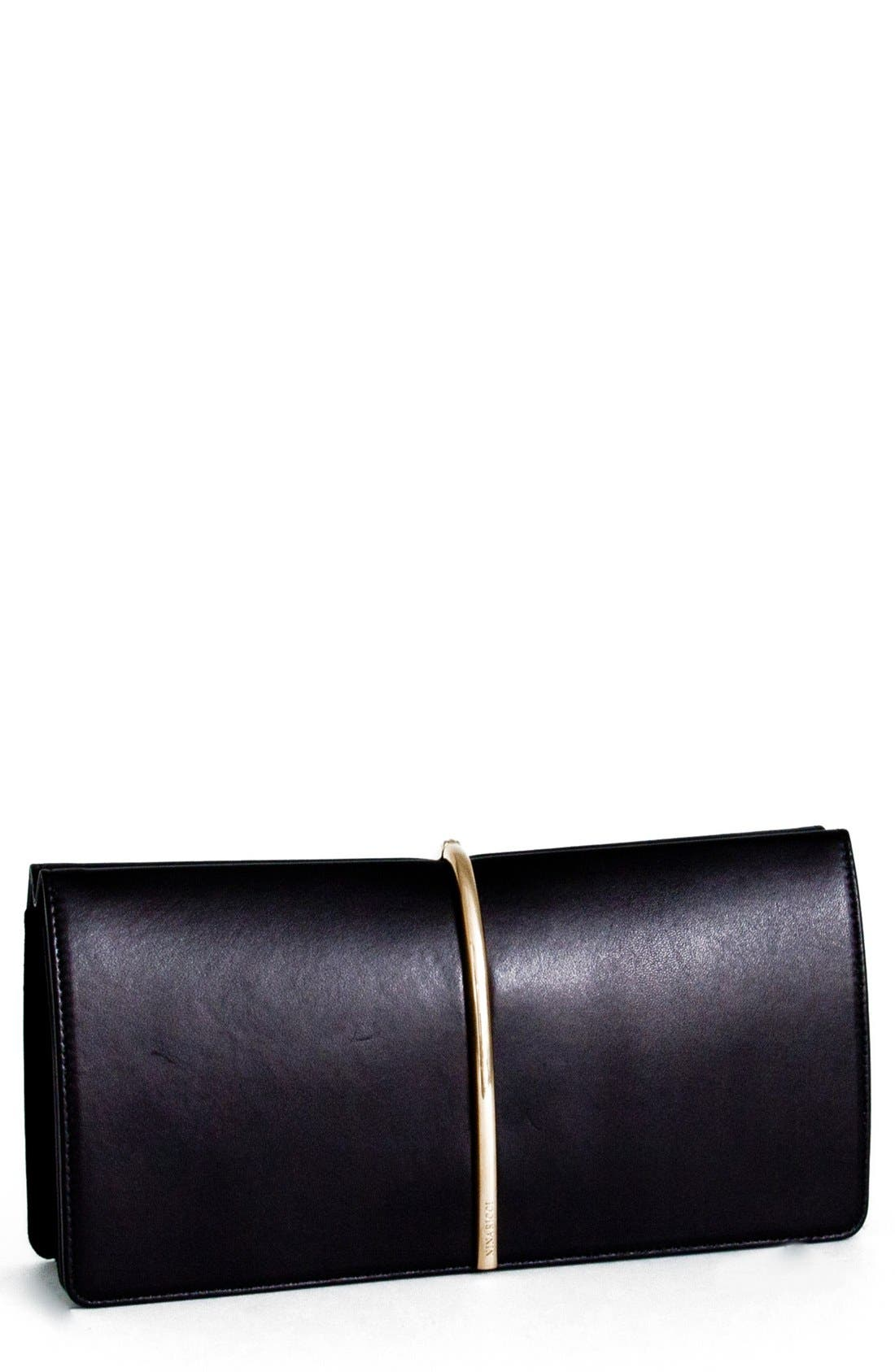 Alternate Image 1 Selected - Nina Ricci 'Arc' Leather Clutch