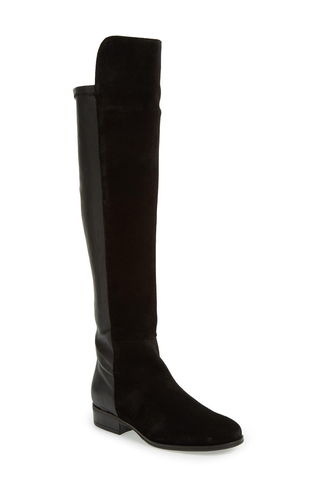 Main Image - Dune London 'Trish' Over the Knee Boot (Women)