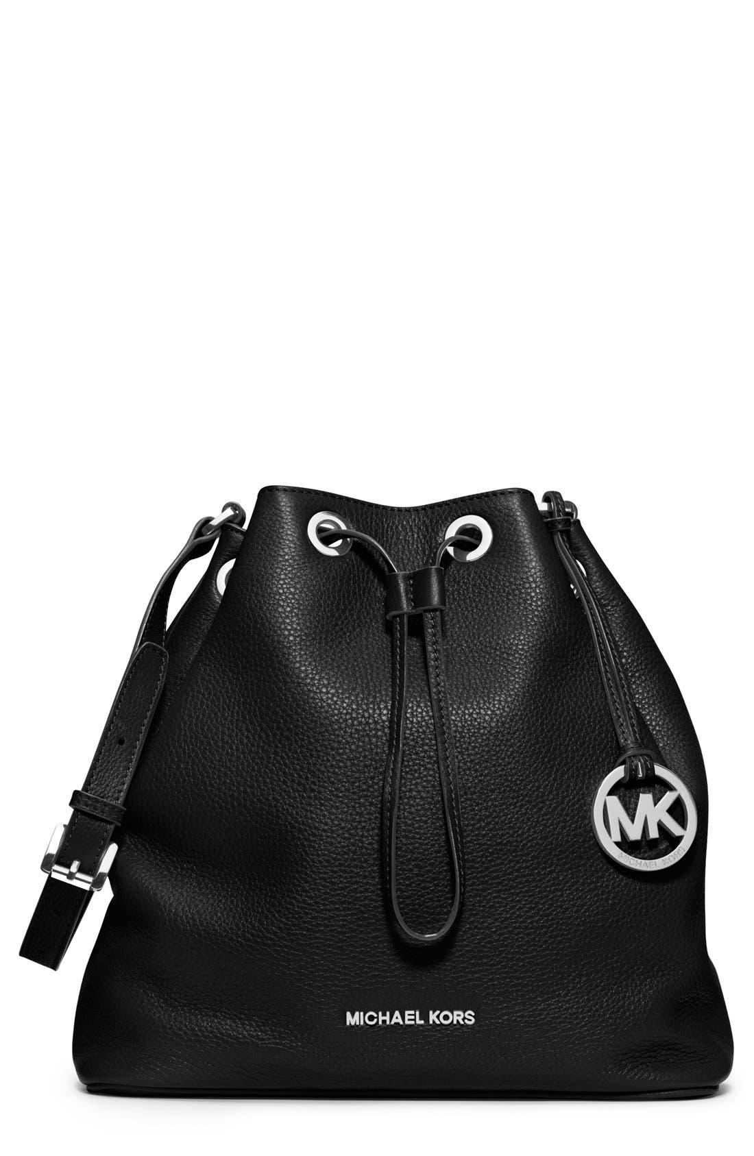 Alternate Image 1 Selected - MICHAEL Michael Kors 'Large Jules' Drawstring Shoulder Bag