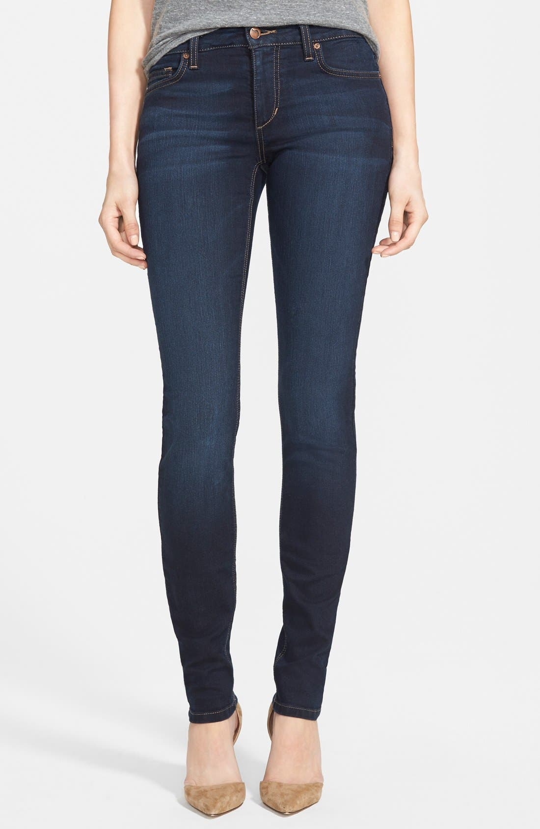 Alternate Image 1  - Joe's 'Flawless' Curvy Skinny Jeans (Ilse)