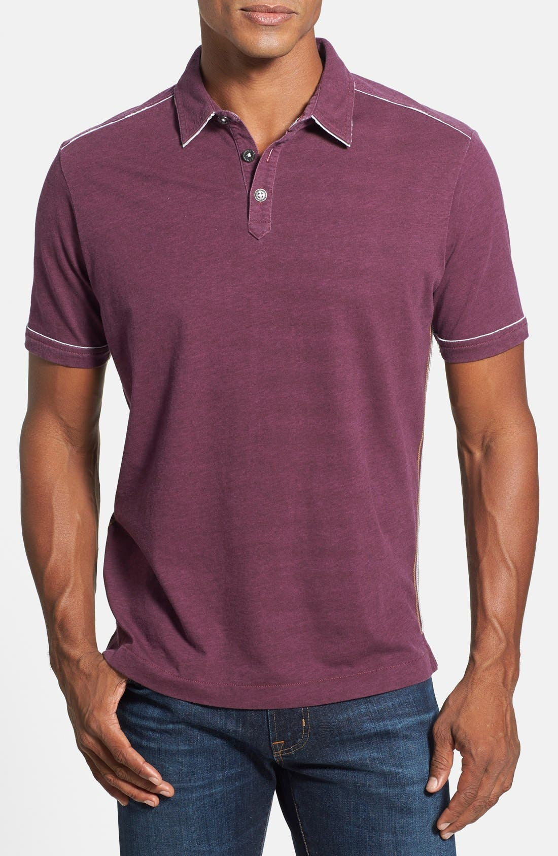 Alternate Image 1 Selected - Tommy Bahama 'New Fray Day' Island Modern Fit Polo