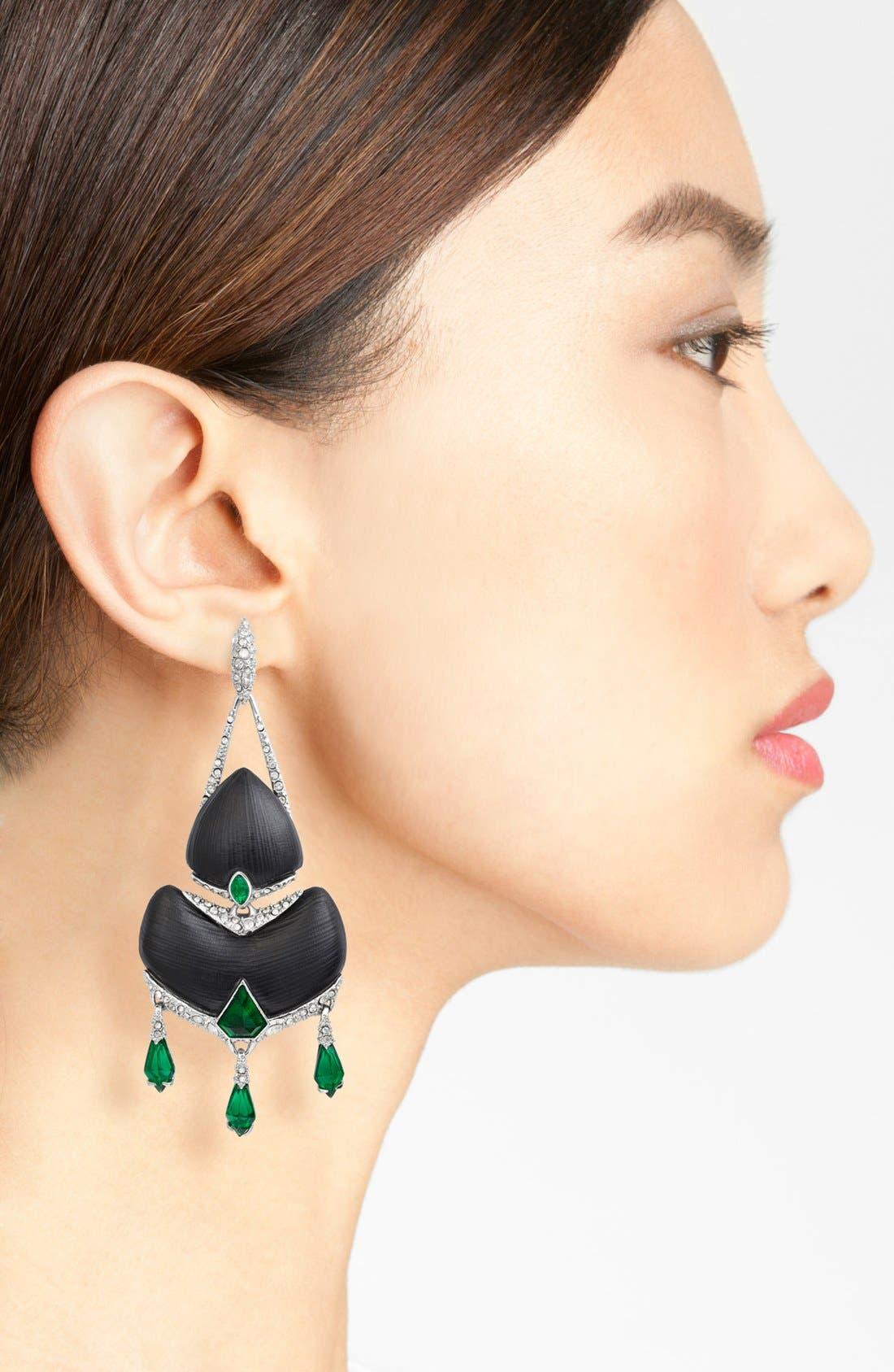 Alternate Image 2  - Alexis Bittar 'Lucite®' Chandelier Earrings