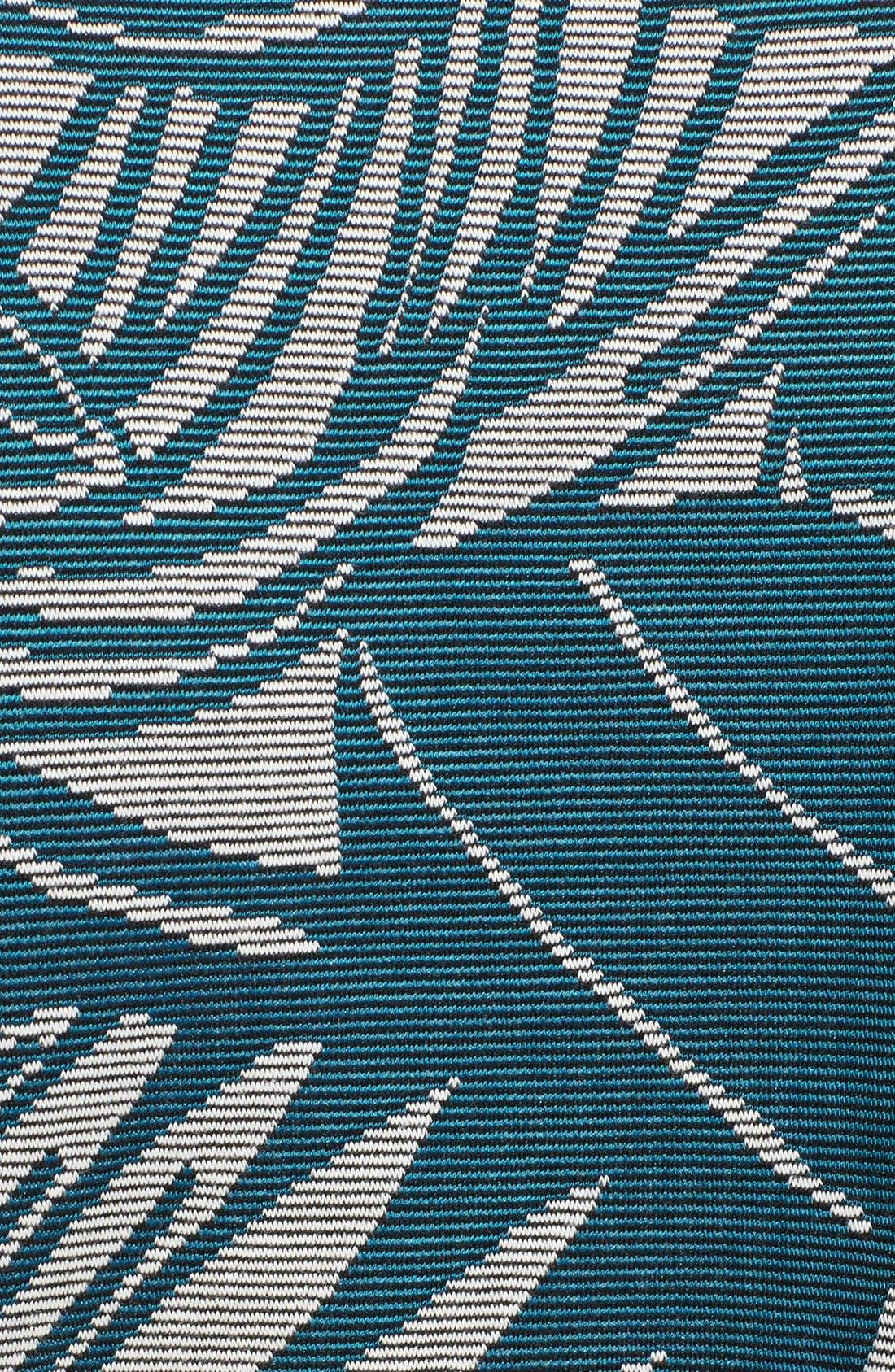 Alternate Image 3  - Veronica Beard Palm Jacquard Jersey Sweater