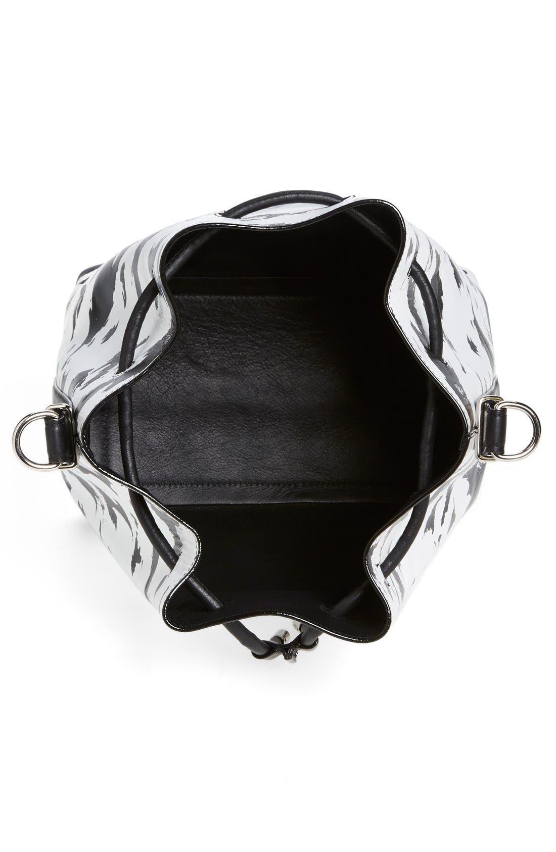 Alternate Image 2  - Proenza Schouler 'Medium' Feather Print Leather Bucket Bag