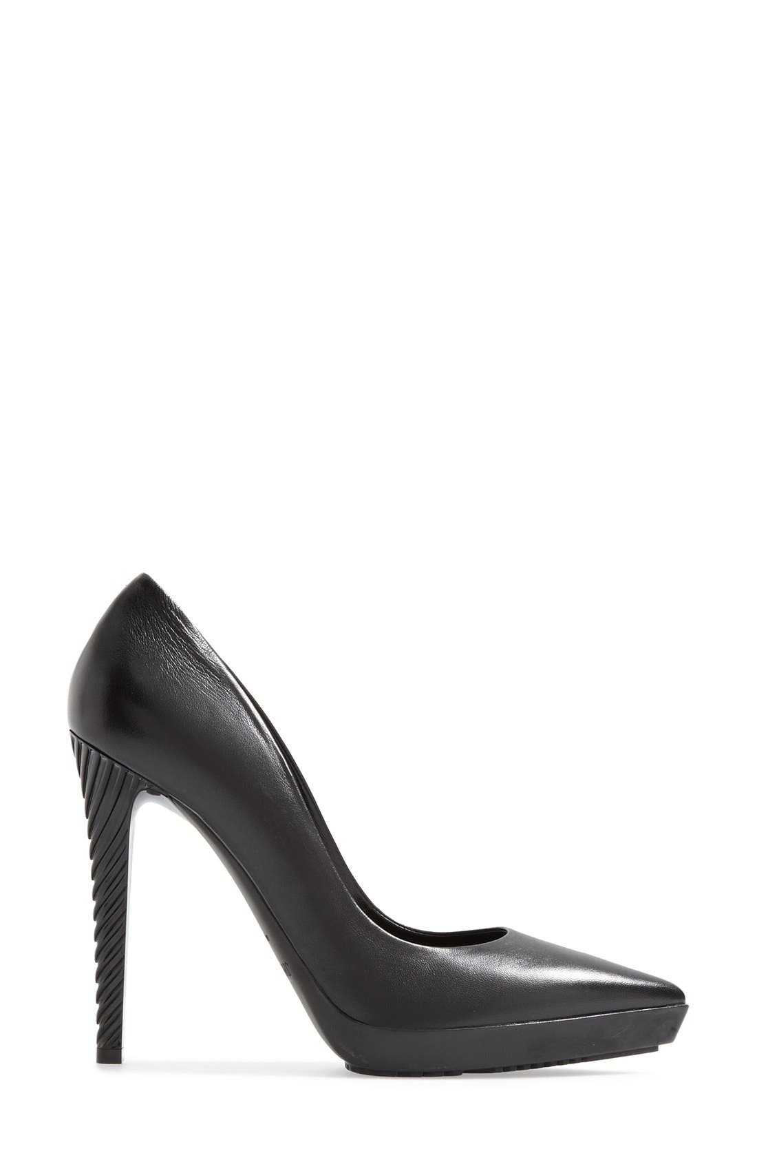 Alternate Image 4  - Jimmy Choo 'Tisri' Pointy Toe Platform Pump (Women)