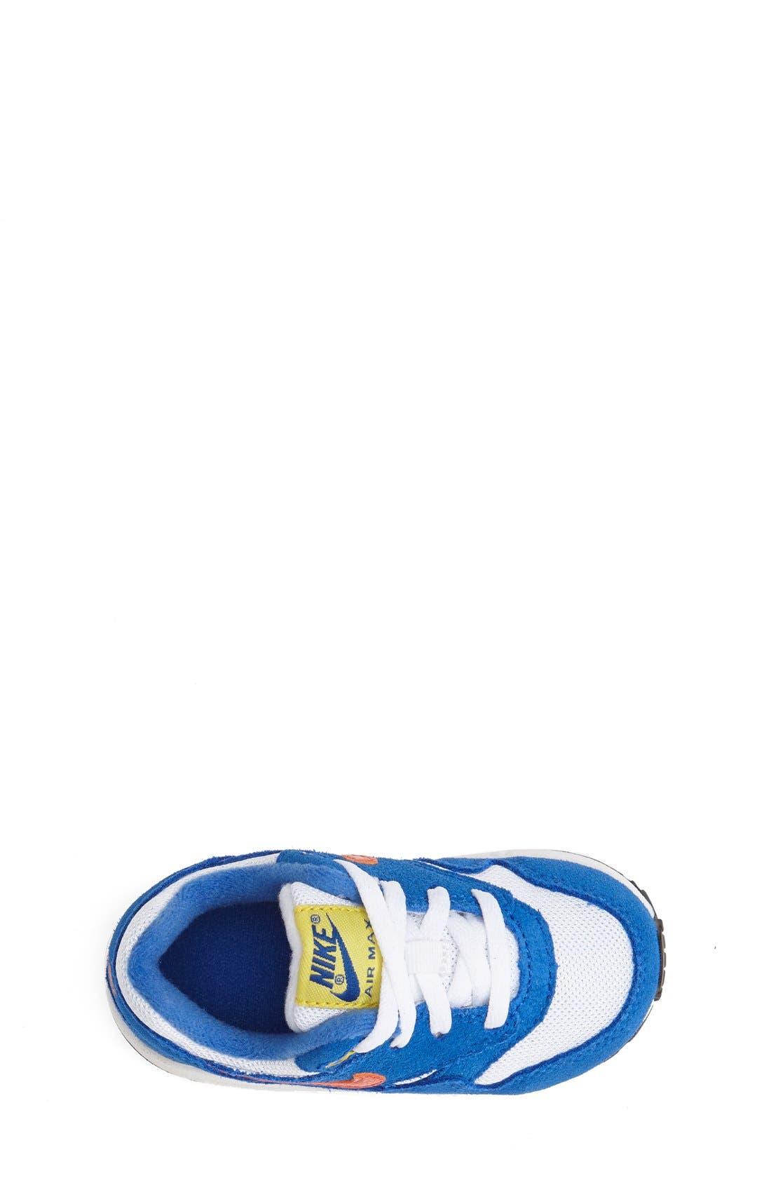 Alternate Image 3  - Nike 'Air Max 1 TD' Sneaker (Baby, Walker & Toddler)
