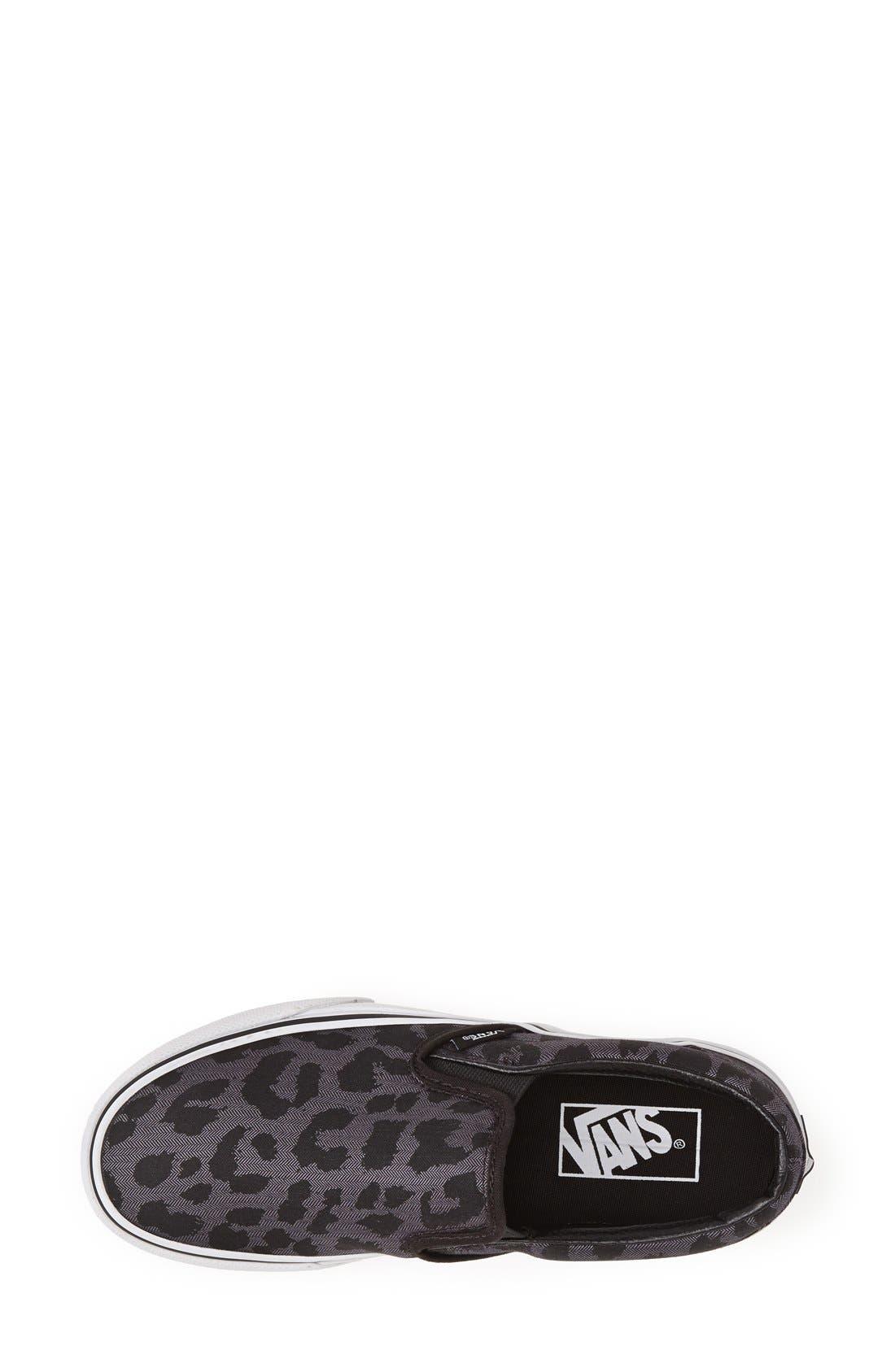Alternate Image 3  - Vans Leopard Spot Slip-On Sneaker (Women)