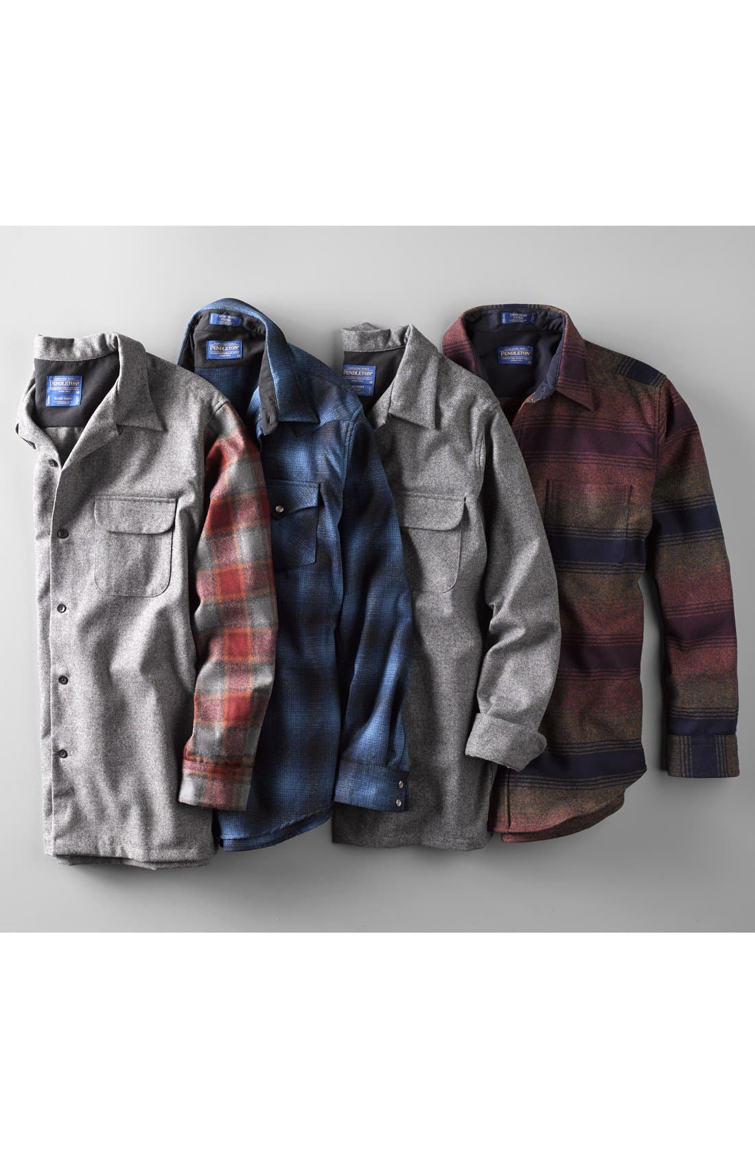 Alternate Image 4  - Pendleton 'Board' Fitted Wool Flannel Shirt