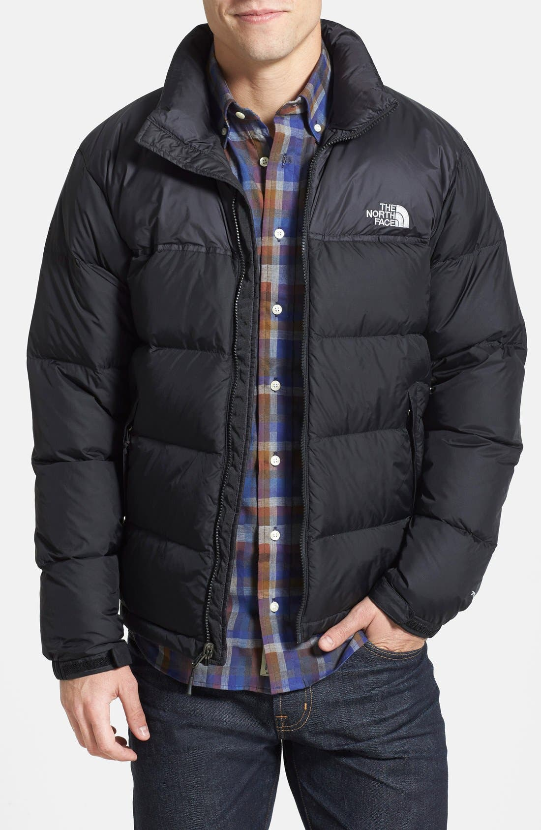 Alternate Image 1 Selected - The North Face 'Nuptse' Packable Quilted Goose Down Jacket