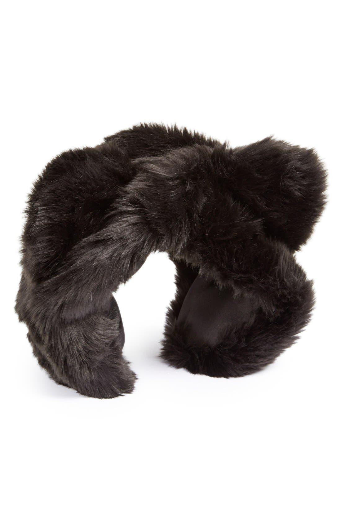 Main Image - August Hat Faux Fur Earmuffs